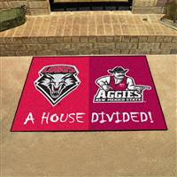 "House Divided - New Mexico / New Mexico State House Divided Mat 33.75""x42.5"""