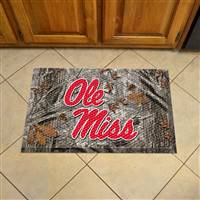 "University of Mississippi (Ole Miss) Scraper Mat 19""x30"""
