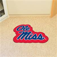 "University of Mississippi (Ole Miss) Mascot Mat 32.4"" x 30"""