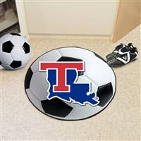 "Louisiana Tech University Soccer Ball Mat 27"" diameter"