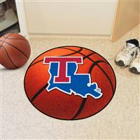 "Louisiana Tech Bulldogs Basketball Rug 29"" Diameter"