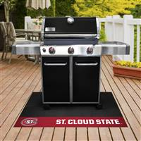 "St. Cloud State University Grill Mat 26""x42"""