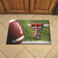 "Texas Tech University Scraper Mat 19""x30"""
