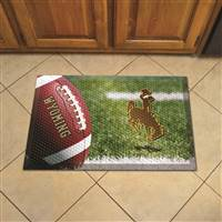"University of Wyoming Scraper Mat 19""x30"""
