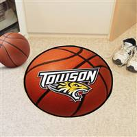 "Towson University Basketball Mat 27"" diameter"