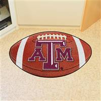 "Texas A&M University Football Mat 20.5""x32.5"""
