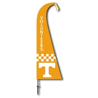 Tennessee Volunteers Feather Flag