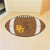"Baylor University Southern Style Football Mat 20.5""x32.5"""