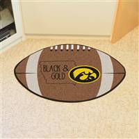 "University of Iowa Southern Style Football Mat 20.5""x32.5"""