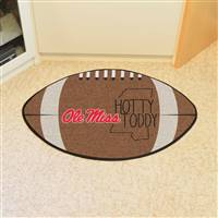 "University of Mississippi (Ole Miss) Southern Style Football Mat 20.5""x32.5"""