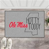 "University of Mississippi (Ole Miss) Southern Style Starter Mat 19""x30"""