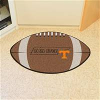 "University of Tennessee Southern Style Football Mat 20.5""x32.5"""