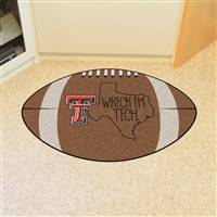 "Texas Tech University Southern Style Football Mat 20.5""x32.5"""