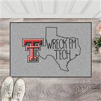 "Texas Tech University Southern Style Starter Mat 19""x30"""