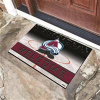 "NHL - Colorado Avalanche Crumb Rubber Door Mat 18""x30"""