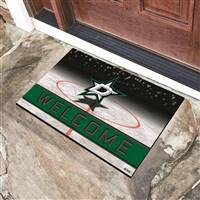 "NHL - Dallas Stars Crumb Rubber Door Mat 18""x30"""