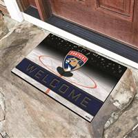 "NHL - Florida Panthers Crumb Rubber Door Mat 18""x30"""