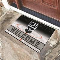 "NHL - Los Angeles Kings Crumb Rubber Door Mat 18""x30"""