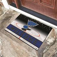 "NHL - St. Louis Blues Crumb Rubber Door Mat 18""x30"""