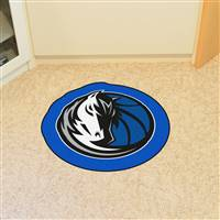 "NBA - Dallas Mavericks Mascot Mat 36"" x 36"""
