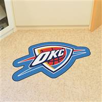 "NBA - Oklahoma City Thunder Mascot Mat 36"" x 22.3"""