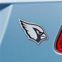 "NFL - Arizona Cardinals Chrome Emblem 3""x3.2"""