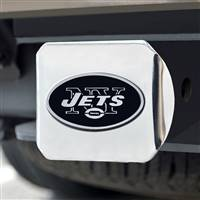 "NFL - New York Jets Chrome Hitch - Chrome3.4""x4"""