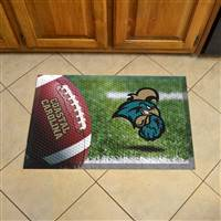 "Coastal Carolina University Scraper Mat 19""x30"""