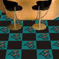 "Coastal Carolina University Team Carpet Tiles 18""x18"" tiles"