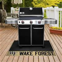 "Wake Forest University Grill Mat 26""x42"""