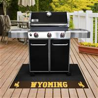 "University of Wyoming Grill Mat 26""x42"""
