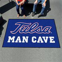 "University of Tulsa Man Cave UltiMat 59.5""x94.5"""