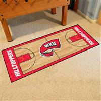 "Western Kentucky University NCAA Basketball Runner 30""x72"""