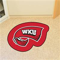 "Western Kentucky University Mascot Mat 37.3"" x 30"""