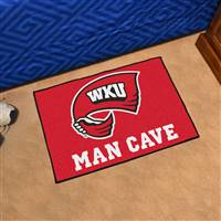 "Western Kentucky University Man Cave Starter 19""x30"""