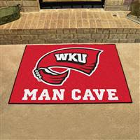 "Western Kentucky University Man Cave All-Star 33.75""x42.5"""