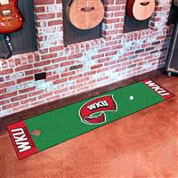 "Western Kentucky University Putting Green Mat 18""x72"""