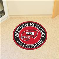"Western Kentucky University Roundel Mat 27"" diameter"