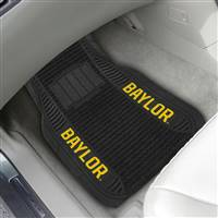 "Baylor University 2-pc Deluxe Car Mat Set 21""x27"""