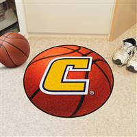"University Tennessee Chattanooga Basketball Rug, 29"" Diameter"