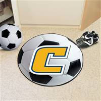 "University Tennessee Chattanooga Soccer Ball Mat 27"" diameter"