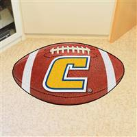 "University Tennessee Chattanooga Football Rug, 22"" x 35"""