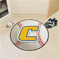 "University Tennessee Chattanooga Baseball Rug, 29"" Diameter"