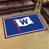 "Chicago Cubs 4x6 Rug 44""x71"""