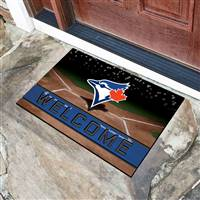 "Toronto Blue Jays Crumb Rubber Door Mat 18""x30"""
