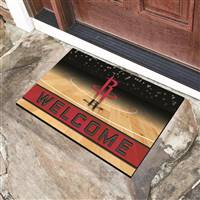 "NBA - Houston Rockets Crumb Rubber Door Mat 18""x30"""