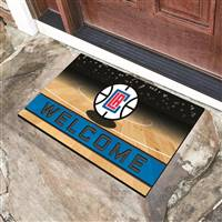 "NBA - Los Angeles Clippers Crumb Rubber Door Mat 18""x30"""