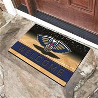 "NBA - New Orleans Pelicans Crumb Rubber Door Mat 18""x30"""