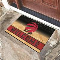 "NBA - Toronto Raptors Crumb Rubber Door Mat 18""x30"""