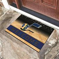 "NBA - Utah Jazz Crumb Rubber Door Mat 18""x30"""